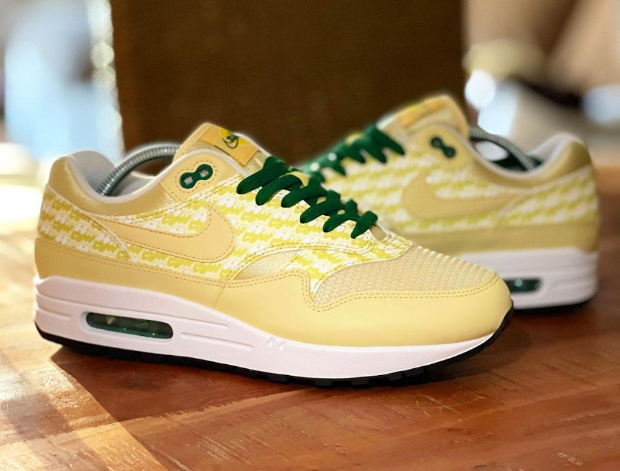 Nike Air Max 87 jaune citron (2)