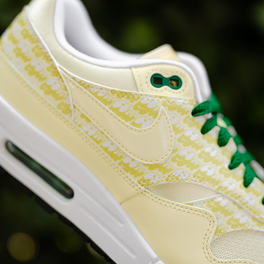 Nike Air Max 87 jaune citron (3)