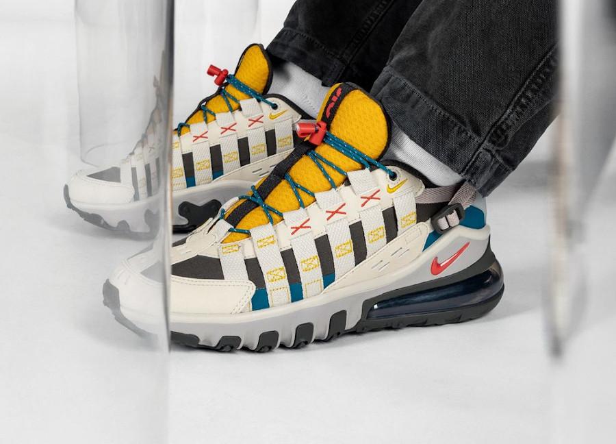 Nike Air Max Vistascape beige jaune et rouge (3)