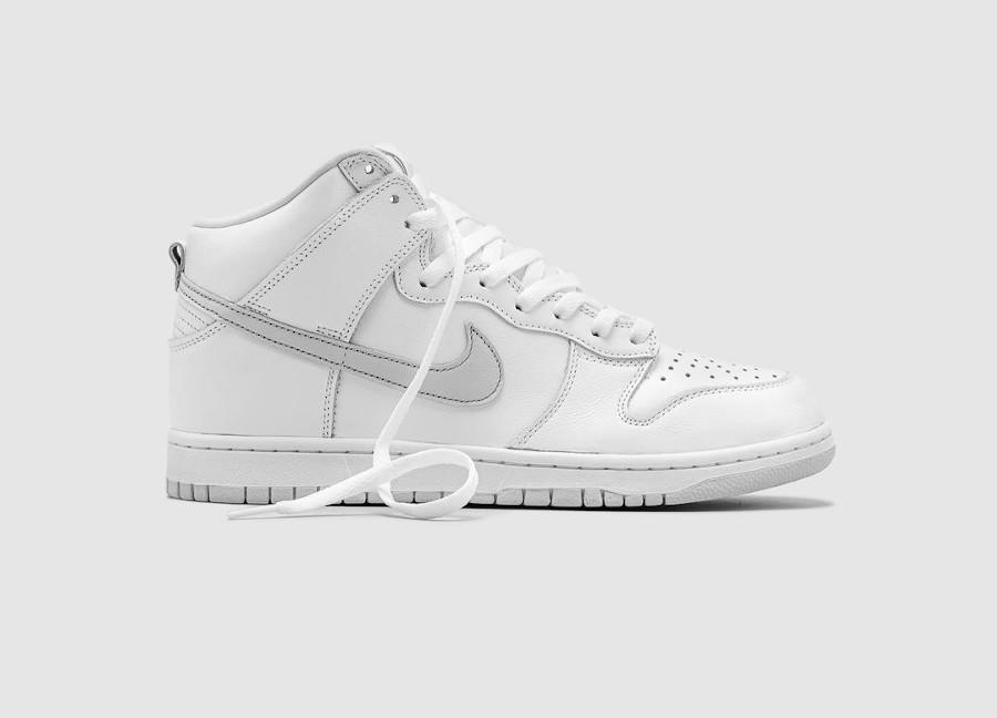 Nike Dunk Hi blanche 2020 (2)