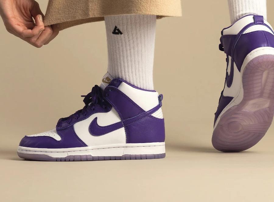 Nike Dunk High LE SP Varsity Purple 2020 DC5382 100