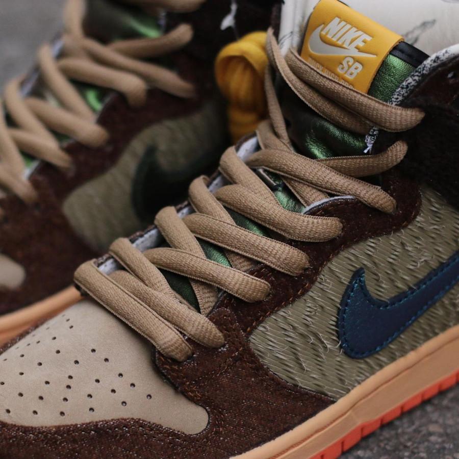 Nike Dunk High Pro SB Dinde Cigogne (2)