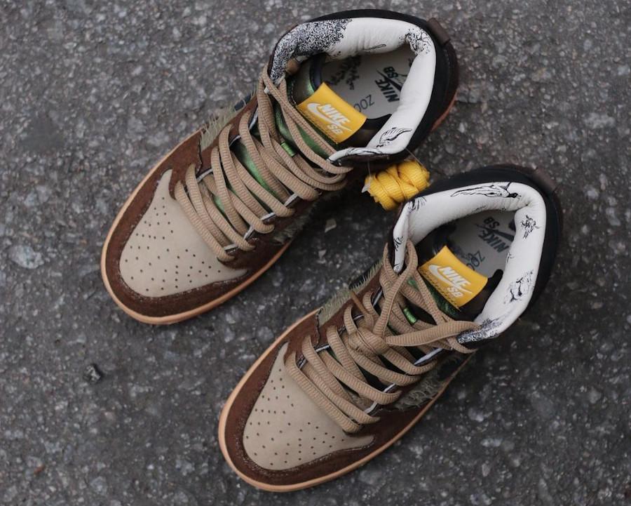 Nike Dunk High Pro SB Dinde Cigogne (4)