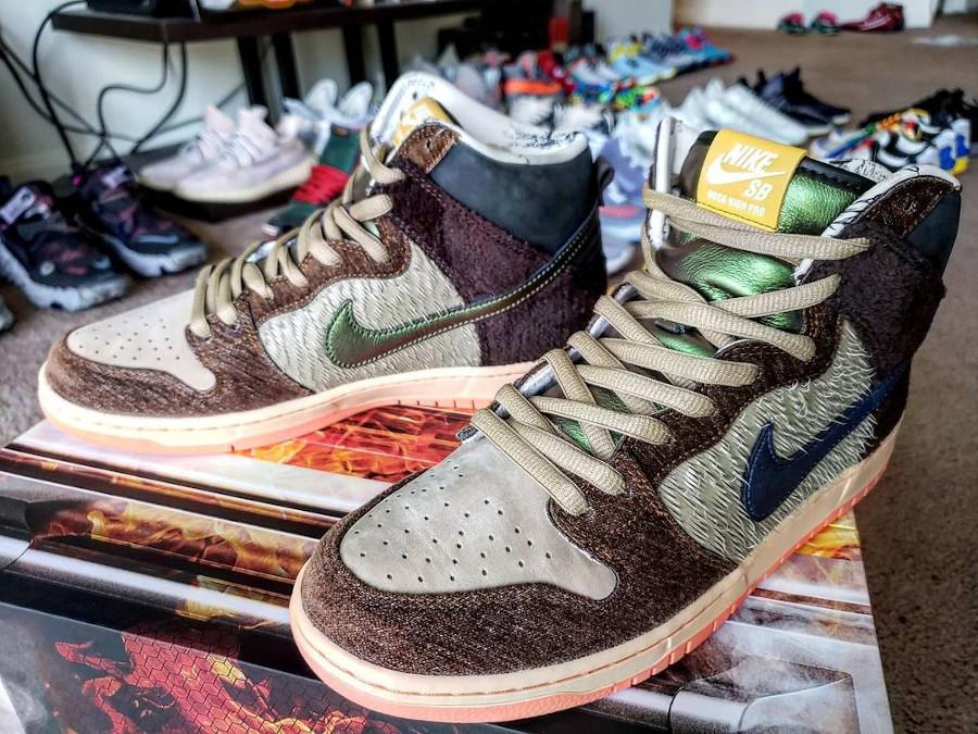 Nike Dunk High Pro SB Dinde Cigogne (6)
