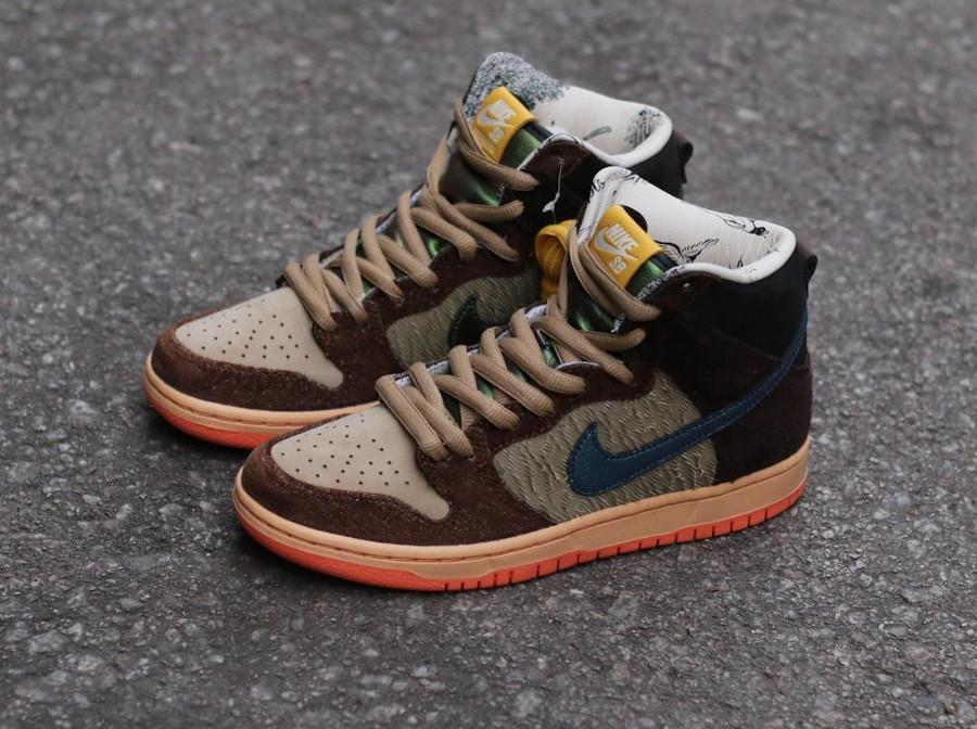Nike Dunk High Pro SB Dinde Cigogne (7)