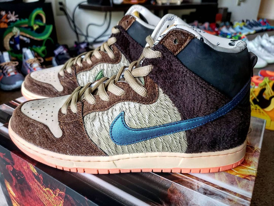 Nike Dunk High Pro SB Dinde Cigogne (8)