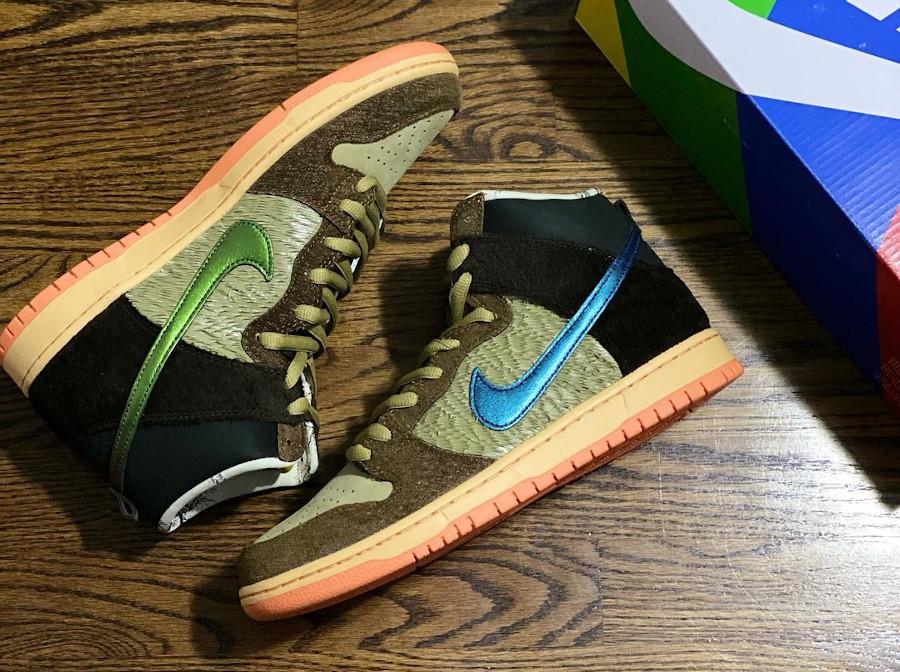 Nike Dunk High Pro SB Dinde Cigogne (9)
