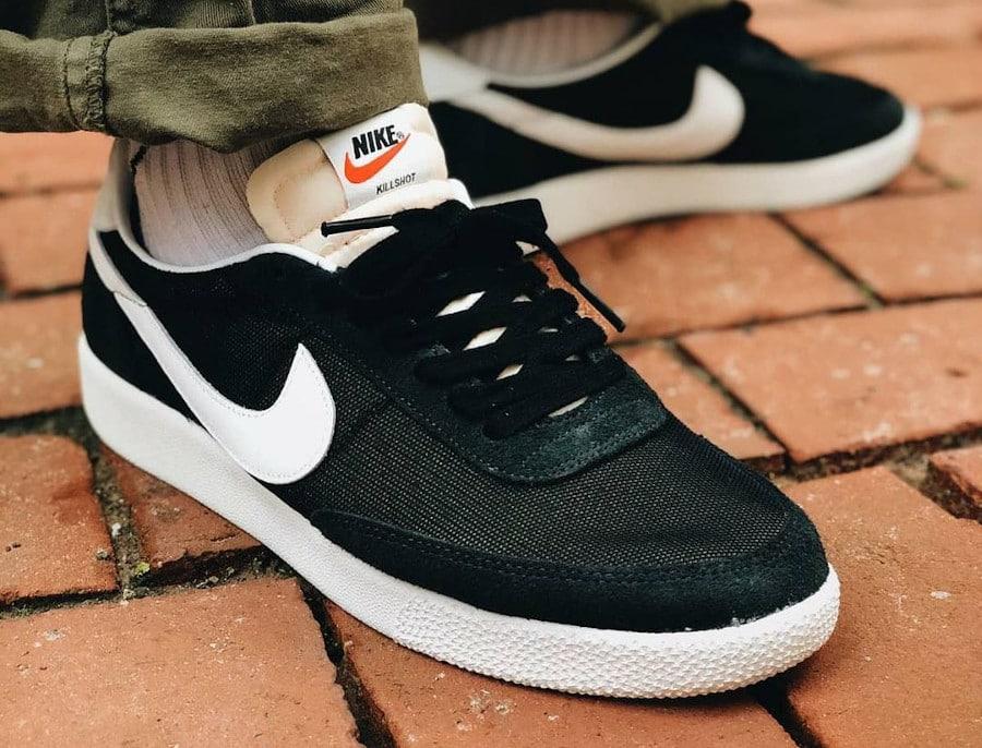 Nike Killshot SP Black White Off Noir pas cher