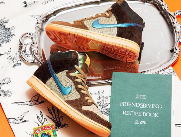 Nike SB Dunk High Pro Concepts Turducken Mallard Duck DC6887-200