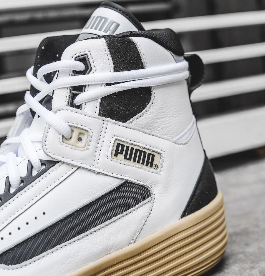 Puma Clyde All Pro Mid Kuz blanche et vintage (3)