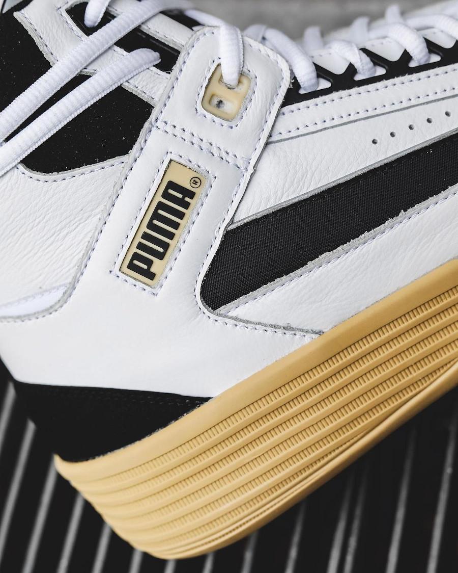 Puma Clyde All Pro Mid Kuz blanche et vintage (7)