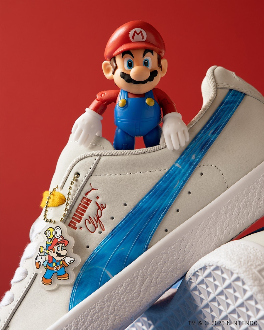 Puma Clyde Super Mario Sunshine 380199-01 (1)