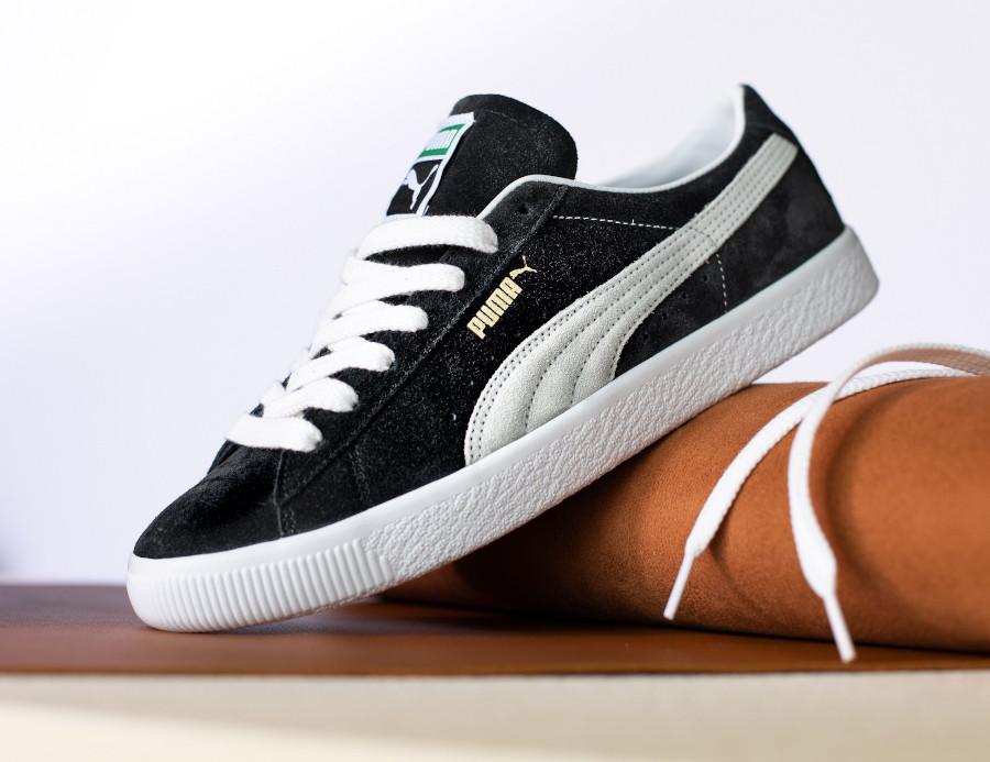 Puma Suede Vintage en daim noir 2021 (2)