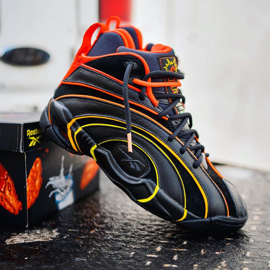 Reebok x Hot Ones Shaqnosis Scoville Level H68851