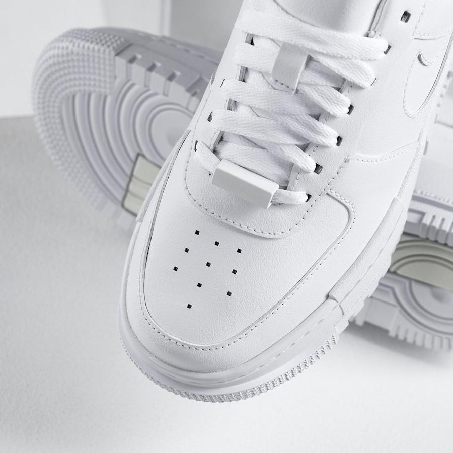 Women's Nike AF1 Pixcel blanche (7)