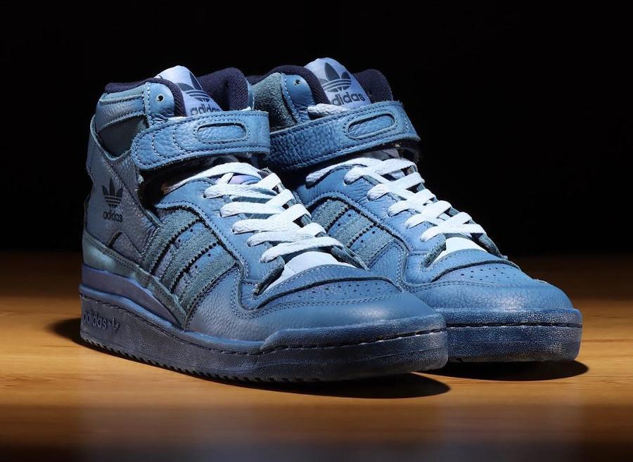 Adidas Forum Hi Light Blue (2)