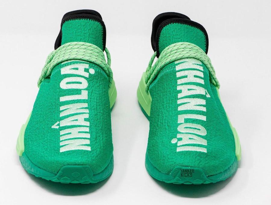 Adidas NMD HU Complexland vert menthe (2)