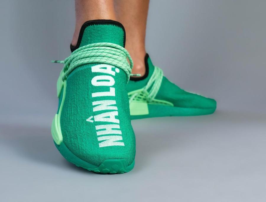 Adidas NMD HU Complexland vert menthe (3)