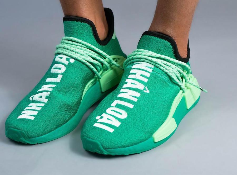 Adidas NMD HU Complexland vert menthe (4)