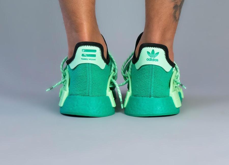 Adidas NMD HU Complexland vert menthe (5)