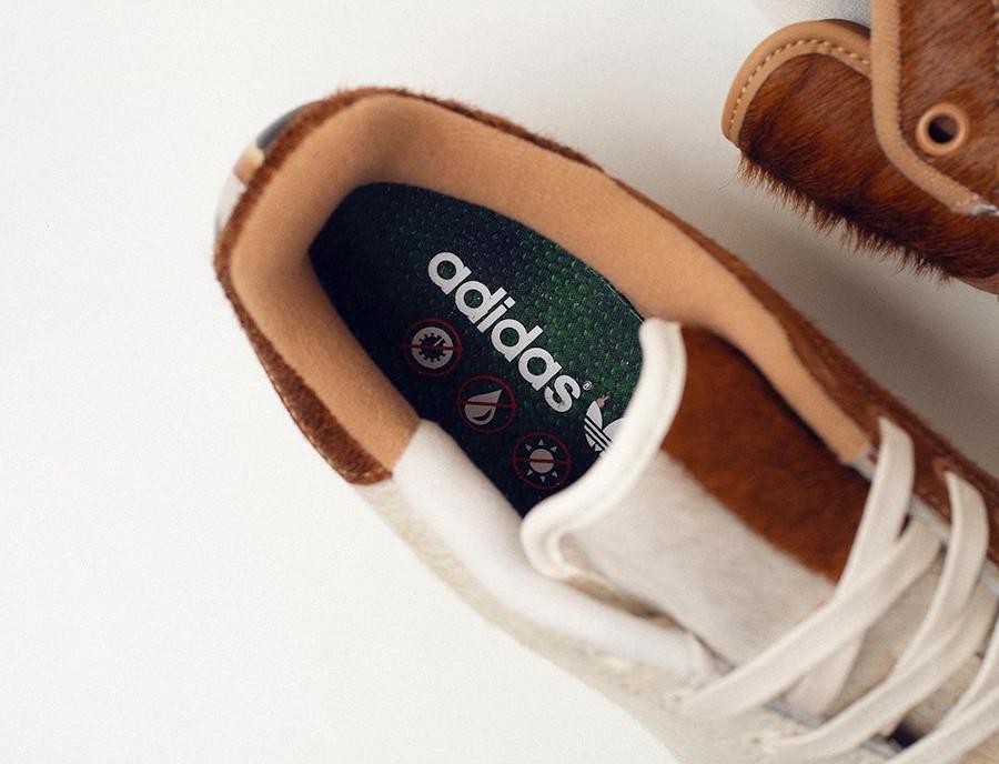 Adidas Stan Smith Mogwai fourrure marron blanche (1)