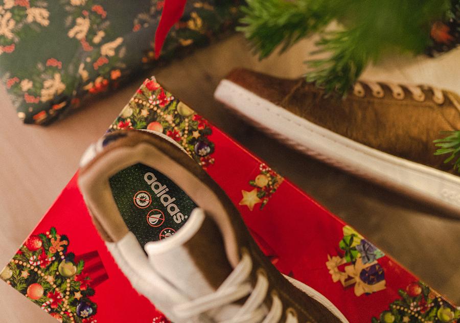 Adidas Stan Smith Mogwai fourrure marron blanche (5)