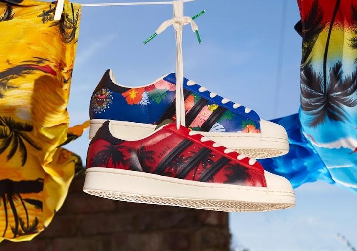 Adidas Superstar palmiers Leonardo Dicaprio (1)