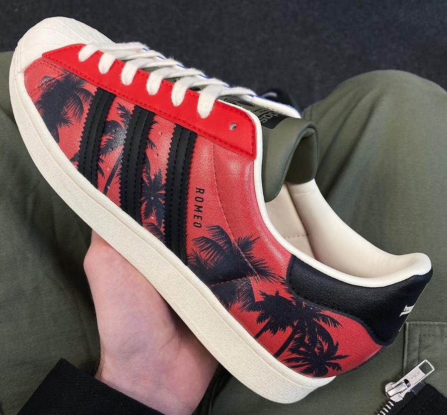 Adidas Superstar palmiers Leonardo Dicaprio (2)