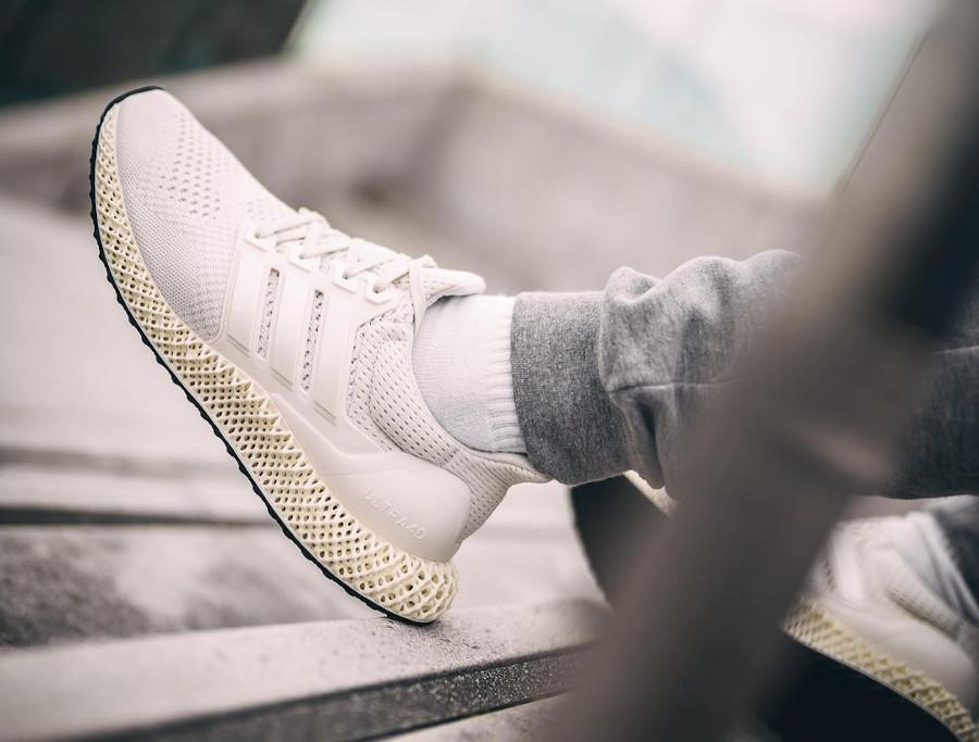 Adidas Ultra Boost 4D beige (4)