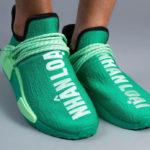 Pharrell Williams x Adidas NMD HU Mint Green 'Nhân Loại'