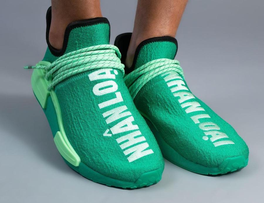 Adidas x PW NMD Human Race Green Nhân Loại GY0089 (couv)