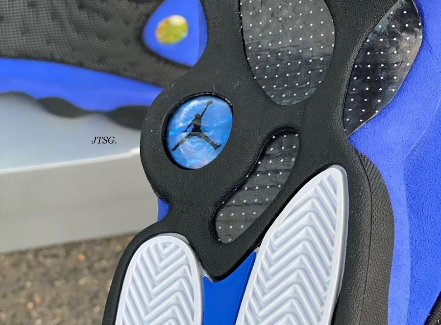 Air Jordan XIII noire et violet (1)