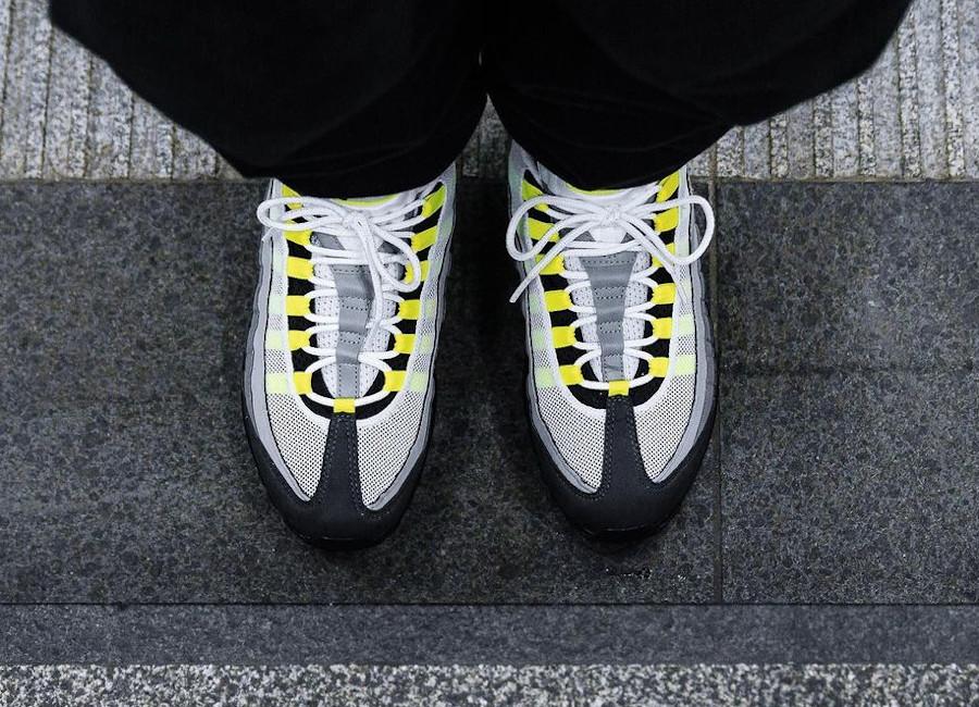 AirMax 95 noire grise jaune fluo 2020 (3)