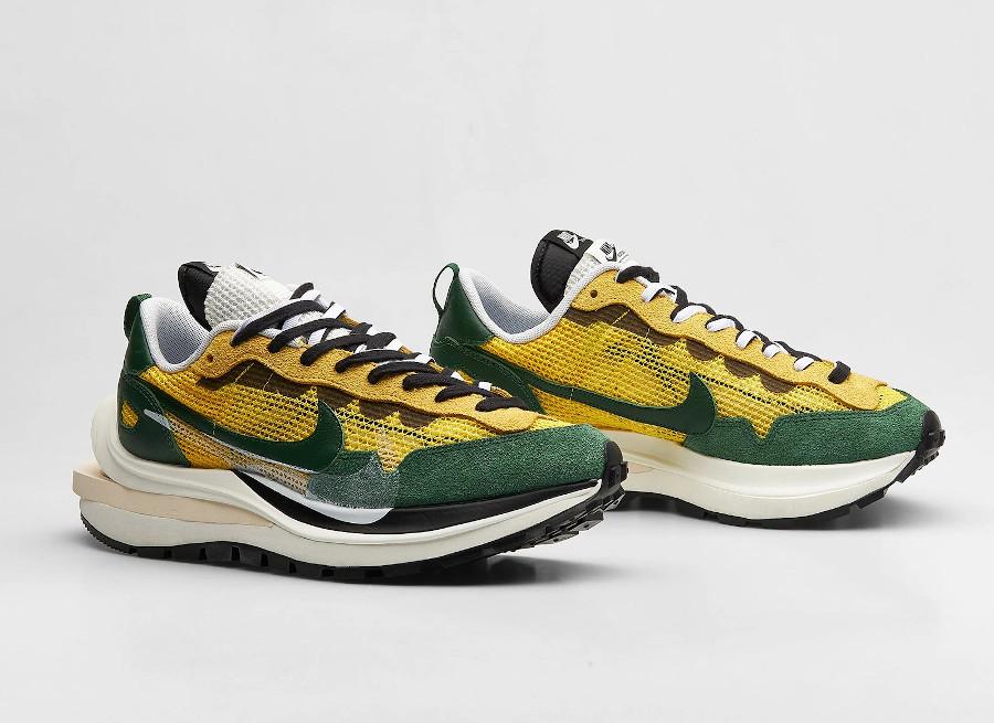 Chitose Abe x Nike Vapor Waffle verte et jaune (1)