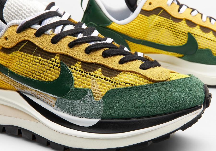 Chitose Abe x Nike Vapor Waffle verte et jaune (2)