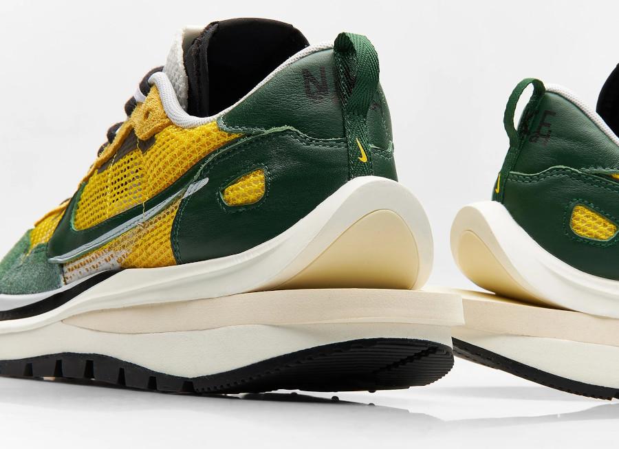 Chitose Abe x Nike Vapor Waffle verte et jaune (3)