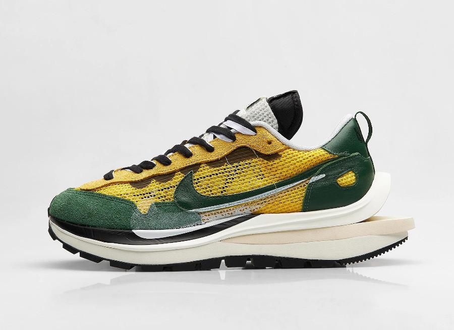 Chitose Abe x Nike Vapor Waffle verte et jaune (4)