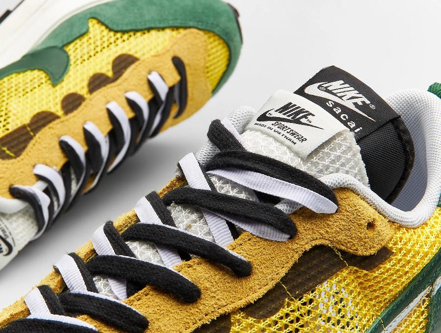 Chitose Abe x Nike Vapor Waffle verte et jaune (5)