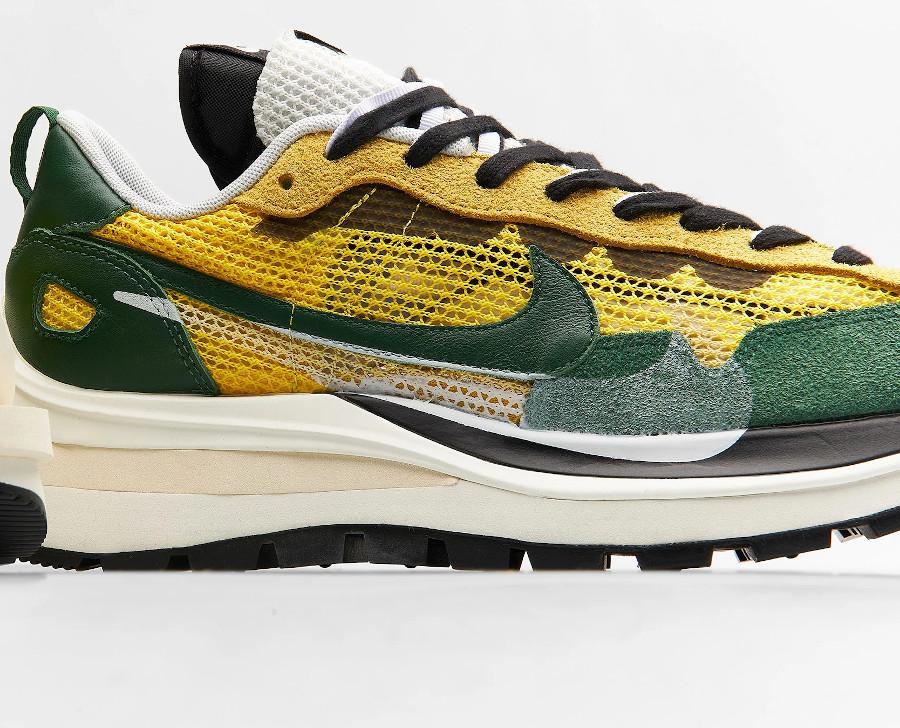 Chitose Abe x Nike Vapor Waffle verte et jaune (6)