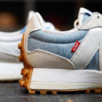 Levi's x New Balance WS327 Grey Light Blue