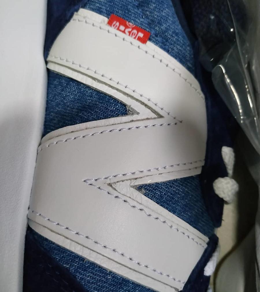New Balance 327 en jeans bleu indigo (5)
