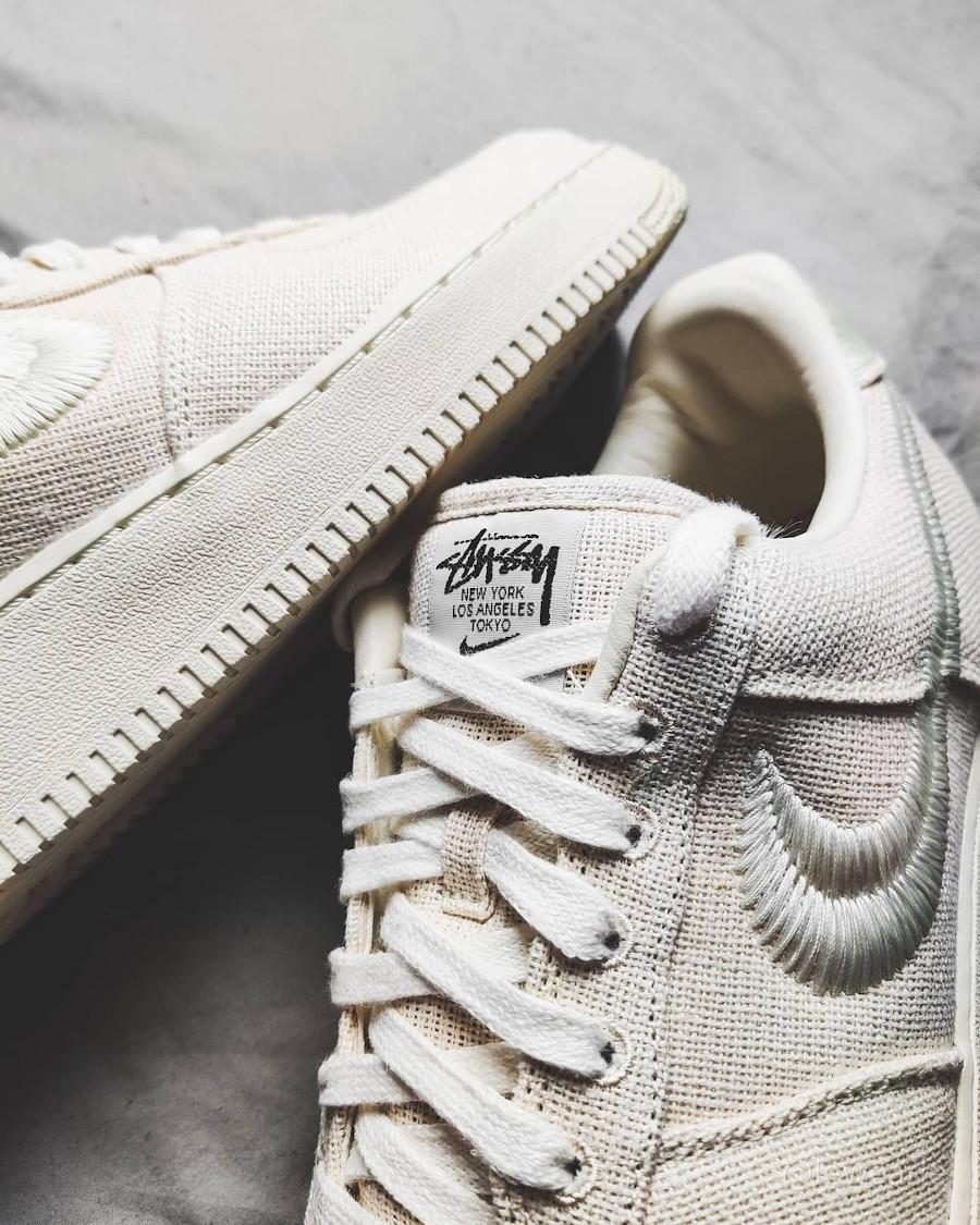 Nike AF1 en chanvre beige (3)