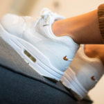 Nike Wmns Air Max 1 Premium 'Yours Wear Away' Summit White Tawny