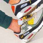 Nike Air Max 90 Buckle Spiral Sage (Compass Pack)