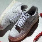 Nike AF1 '07 Premium Vast Grey Sail '1-800 Toll Free'