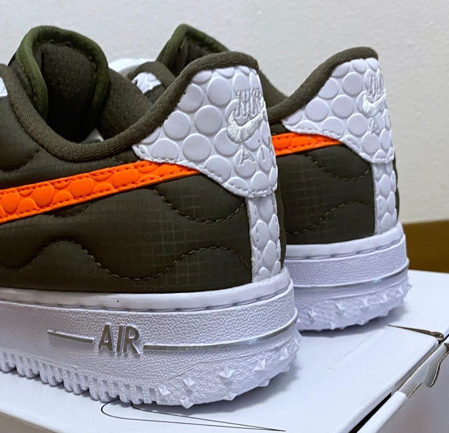 Nike Air Force 1 By You réfléchissante chiharu (1)