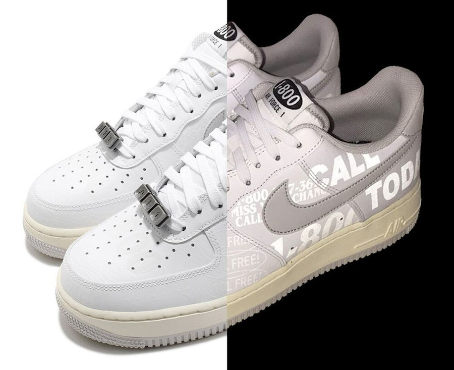 Nike Air Force 1 hotline 3M Reflective (1)