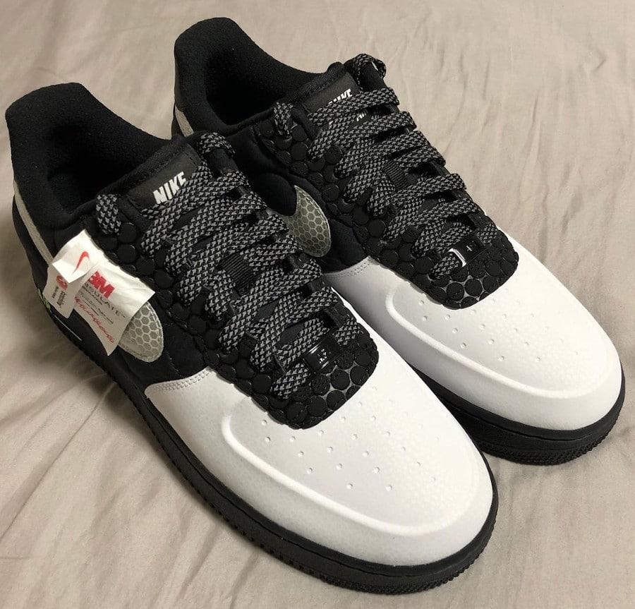 Nike Air Force 1 réfléchissante bob_lemon_kirei (1)