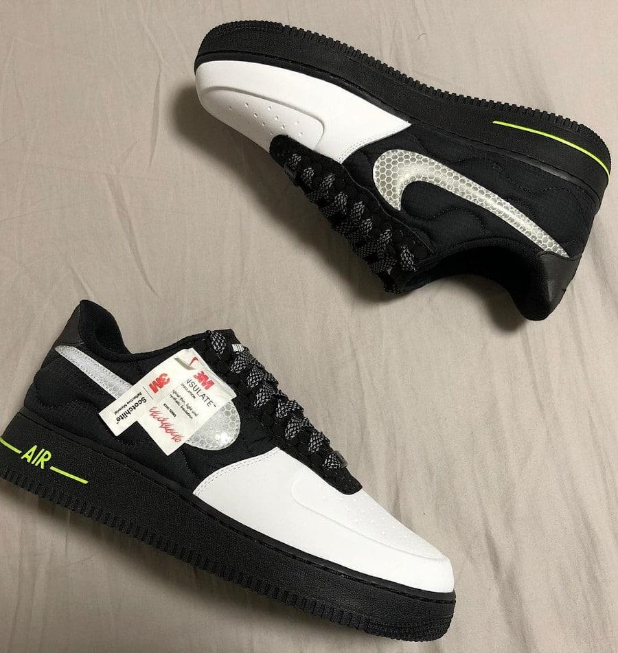 Nike Air Force 1 réfléchissante bob_lemon_kirei (3)