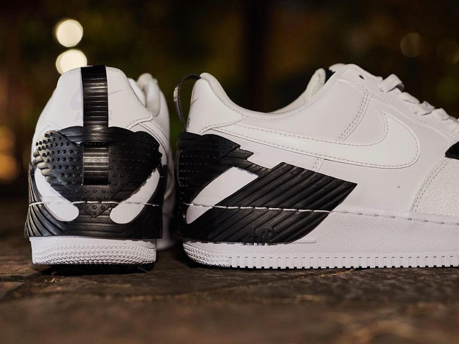 Nike Air Force One Indestructible blanche (1)